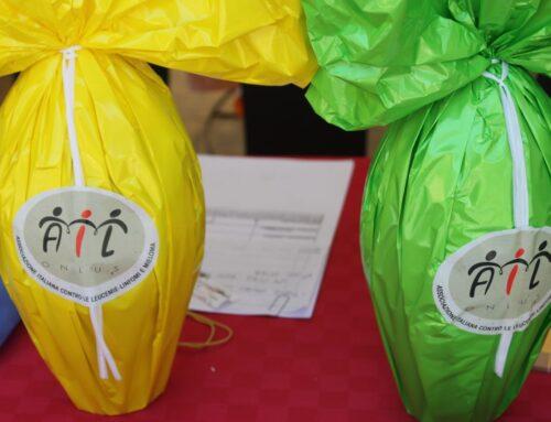 Tornano le Uova dell'AIL. A Pescara volontari in piazza Salotto