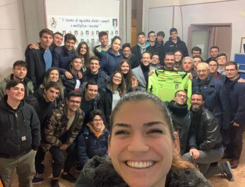Antonio Oro incontra i giovani arbitri di Chieti per promuovere la ricerca scientifica