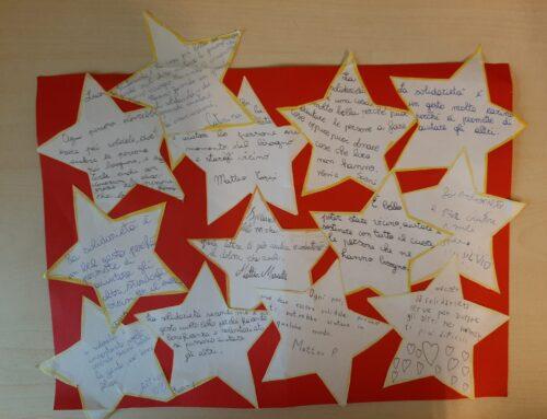 Le stelle degli alunni di Palena per gli ospiti di Casa Ail