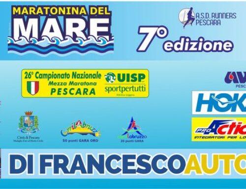 La Maratonina del Mare sostiene l'Ail Pescara